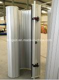 Porte extérieure d'obturateur de roulement d'alliage d'aluminium de sûreté de protection contre les incendies