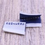 Étiquette bon marché tissée de Guangzhou pour le vêtement
