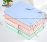 Form bunte lederne Notizbuch-Tagesordnung PU-A6 A5 für Mädchen