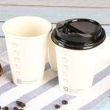 Оптовая напечатанная 12oz Takeaway бумажная кофейная чашка с крышками