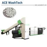 PP película PE/PP bolsas tejidas/ABS PS hojuela de ventilación de vacío único tornillo extrusor