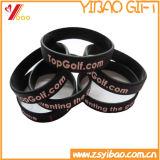인쇄된 로고 (YB-SM-39)를 가진 최신 판매 실리콘 소맷동 또는 팔찌