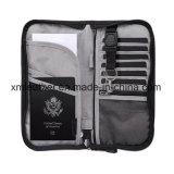 Document de tissu organisateur Passeport cas protéger portefeuille avec poche de l'extérieur