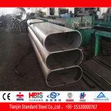 Tubo ovale dell'acciaio inossidabile di ERW (201 304 316L)