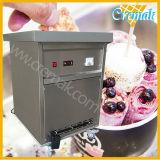 공장 단 하나 50cm 직경 큰 편평한 팬을%s 가진 직접 최신 판매 튀김 롤 아이스크림 기계