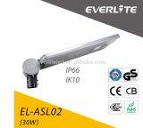 L'indicatore luminoso solare di Everlite 120 Lm/W IP65 30W ha integrato tutti in un indicatore luminoso di via solare per la via