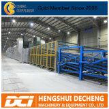 Paneles de yeso del techo de yeso máquina/plantas/placa de yeso del techo de la línea de producción