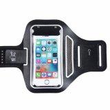 Sport-Armbinde für Handy, Belüftung-Fenster ultradünne Lycra laufende Armbinde