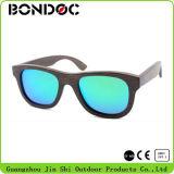 Óculos de sol mais populares de mulheres óculos de sol de bambu