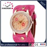 Сплава Wristwatch моды из натуральной кожи для женщин