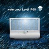 indicatore luminoso impermeabile del giardino di obbligazione di energia solare della lampadina del sensore di movimento di 600lm 42 LED PIR