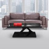 商業使用のための贅沢な現代様式PUのオフィスの革ソファー