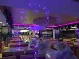최신 인기 상품 당 장식적인 풍선, 구리 LED 표시등 막대, 생일 결혼식 홈을%s 끈 가벼운 창조적인 풍선을%s 가진 3개의 고정되는 18 인치 공간 포일 헬륨 풍선