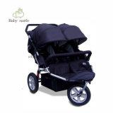 Novo Triciclo Bebé Mãe e Bebé crianças portadora dois filhos de triciclo