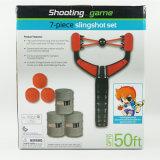 Juego de disparo diversión al aire libre, seguro destino de la cuchara Slingslot bolas baratos Juguetes