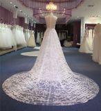 Uma linha vestidos nupciais de casamento de praia do laço