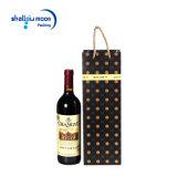 Sac de papier d'année neuve de sacs à provisions de cadeau lustré de vin
