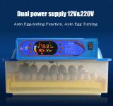 As aves domésticas automáticas do ovo de Hongzhou 48 Duck a incubadora do ovo de codorniz