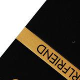 Glänzende Papierfall-Kennsatz-Kleinmarke für Klage