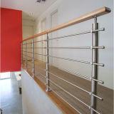 Außenbalkon-Geländer-Edelstahl-Handlauf