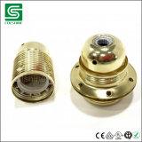 Partalampada del metallo dello zoccolo E27/E14 della lampadina della vite del Edison dell'annata