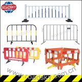Flexibler Plastiksicherheits-Verkehrs-Systemabsturz-Sperren-Zaun für Verkauf