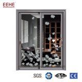 Thermisches Bruch-Systems-Aluminiumschiebetür-Wärmeisolierung mit Doppelverglasung-Glas