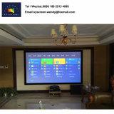 1.1 hoher Gewinn-Heimkino-Projektor-örtlich festgelegter Rahmen-Bildschirm