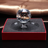 Venta caliente Decoración del vidrio cristalino del gabinete perillas y manijas