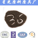 Granulosità del Brown dell'ossido di alluminio della sabbia Al2O3 di 95% da vendere