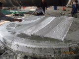 GRP FRP 탱크 배 감기 기계 생산 라인