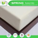Hoja ajustada protector impermeable de bambú del colchón del algodón el 100% del lecho del hogar del surtidor de China