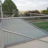 발코니 알루미늄 U 기본적인 채널 유리제 방책