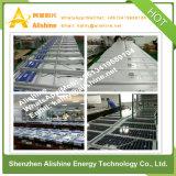hohe Leistungsfähigkeit 12W Monocrtystalline Silikon alles in einem LED-Solargarten-Licht mit Zeit-Steuerung