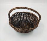 Pequeña cesta hecha a mano natural del sauce con la maneta (BC-WB12)