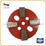 """4 """" /100mm 금속 유대 다이아몬드는 콘크리트 & 시멘트 제품을%s 거친 격판덮개 회전 숫돌을 도구로 만든다"""