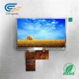 """5 """" tipo video dell'interfaccia 2*6 LED TFT di RGB dell'affissione a cristalli liquidi di HDMI"""