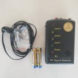 Detector de sinal RF sensibilidade superior Anti Espionagem Full-Range Dispositivo GPS do sinal do GPS sem fio do sinal de bugs Anti-Candid Caçador de lente sem fio