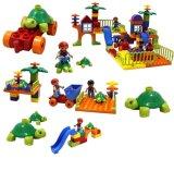 Kind-Tiermuster-Baustein-Spielzeug