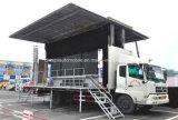 Dongfeng 10 тонн тележка промотирования напольного этапа 50 M2 с экраном СИД
