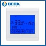 Termóstato eléctrico programable de la calefacción de Digitaces con la pantalla táctil