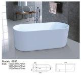 Bañera portable de acrílico libre elegante del modelo 6611 para los adultos