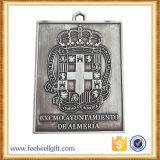 L'approvisionnement personnalisent la médaille en alliage de zinc antique de sport de qualité d'OEM de l'or 3D