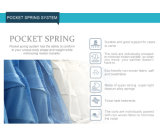 Colchón caliente de la espuma de la memoria de la venta con el resorte Pocket