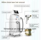 Remoção permanente do cabelo e laser do diodo 808nm