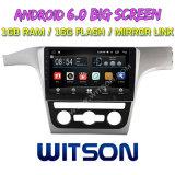 "Witson gran pantalla de 10,2"" de Android 6.0 DVD para coche Volkswagen Passat 2013"