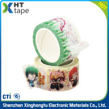 Bande adhésive sensible à la pression anti-calorique de cachetage de papier de Crepe