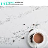 Les veines de quartz blanc translucide Calacatta Pierre Panneau à paroi fine