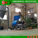 Les déchets de bois d'équipement de déchiquetage pour utiliser le recyclage de palettes