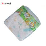 Tecidos ultra macios e super do bebê da absorção com indicador do Wetness